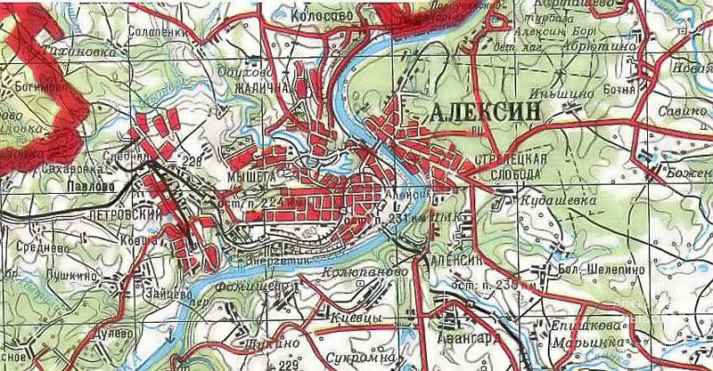 Где находится алексинский район